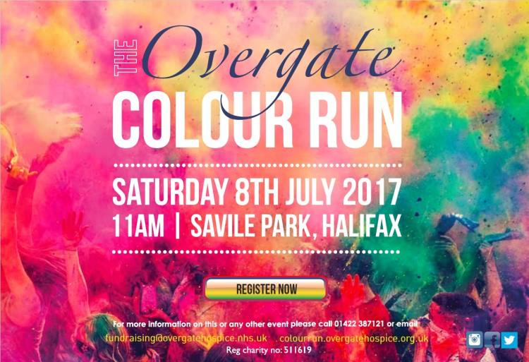 Overgate Hospice Colour Run 2017!