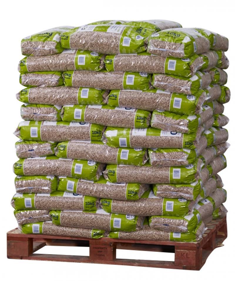 Biomass Fuel Pellets ~ Verdo full pallet kg bags bsl