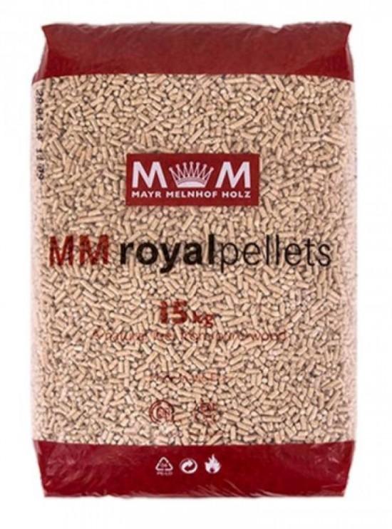 Royals 3/4 Pallet (48 x 15kg Bags) Wood Pellets | Biomass ...