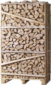 Jumbo 2m3 Crate Silver Birch (Tightly Stacked) Image
