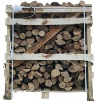 Large 1.2m3 Crate Beech (Tightly Stacked) Image